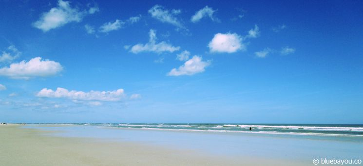 Der Strand in New Smyrna Beach.