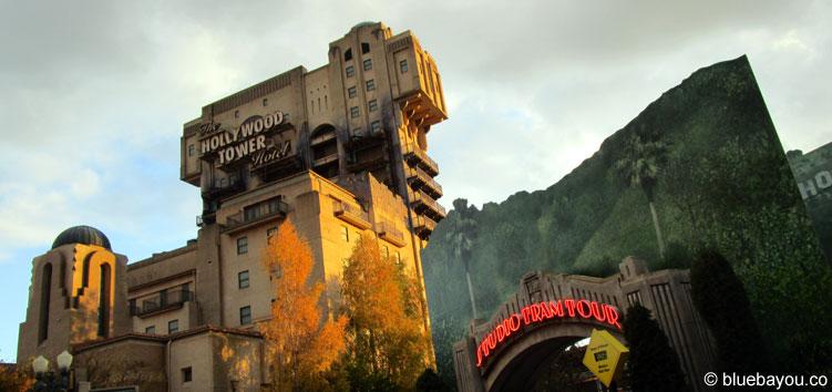 The Twilight Zone Tower of Terror im Disneyland Paris.