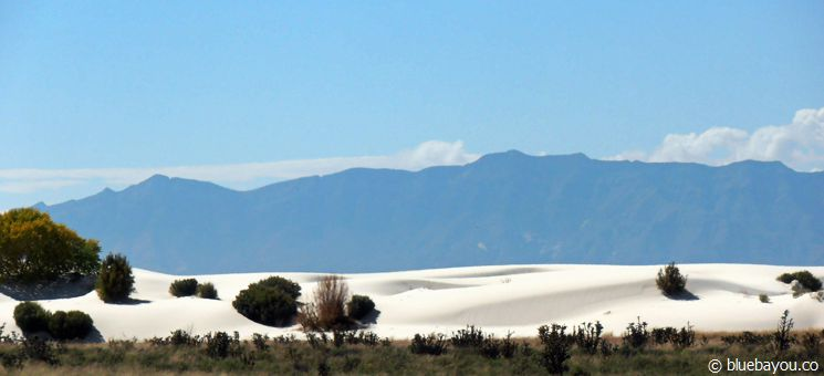 Das White Sands National Monument in New Mexiko, USA.