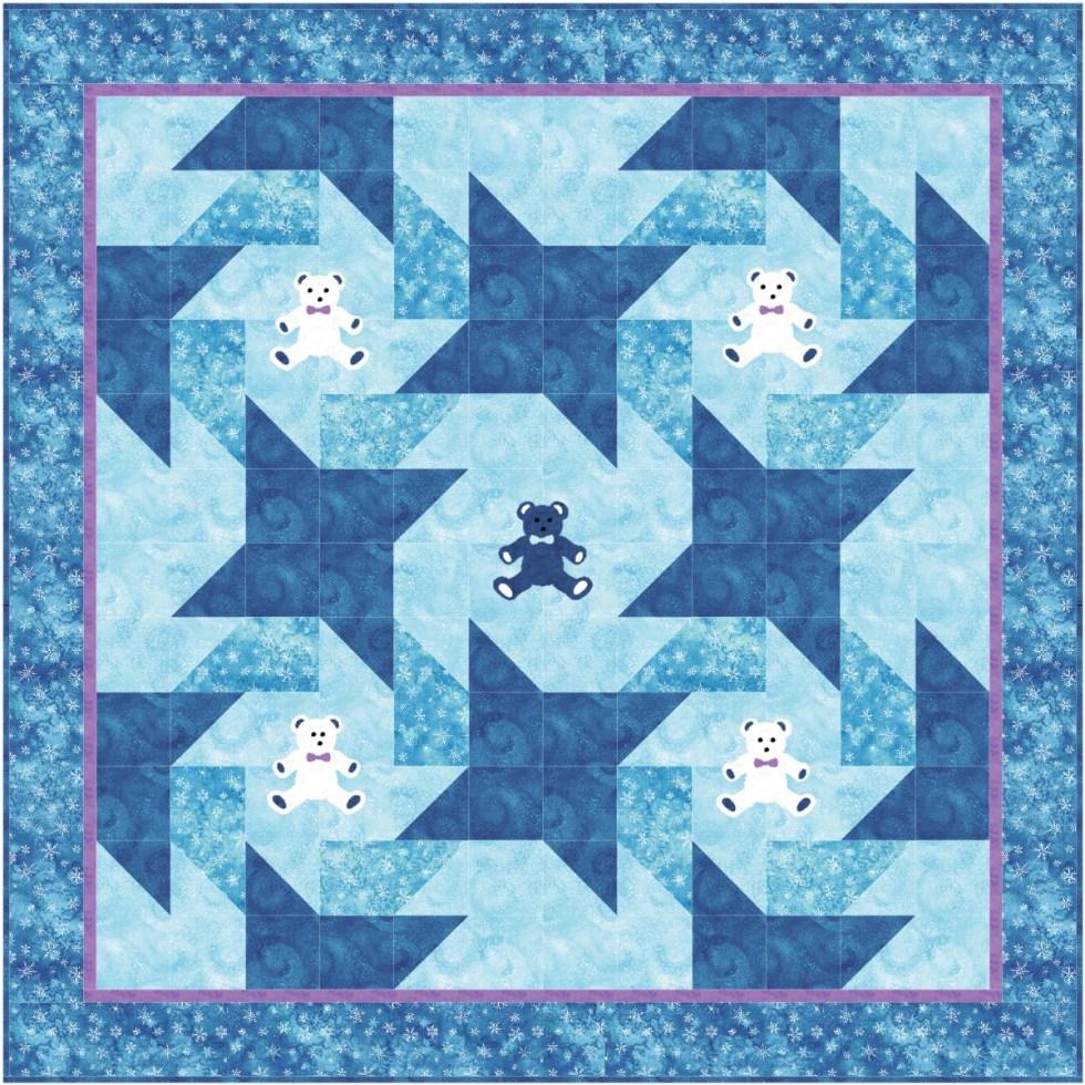 Dancing Bears Quilt Pattern
