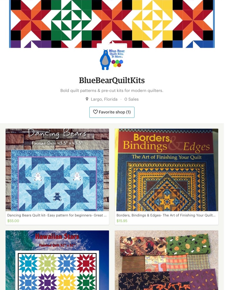Blue Bear Etsy Shop