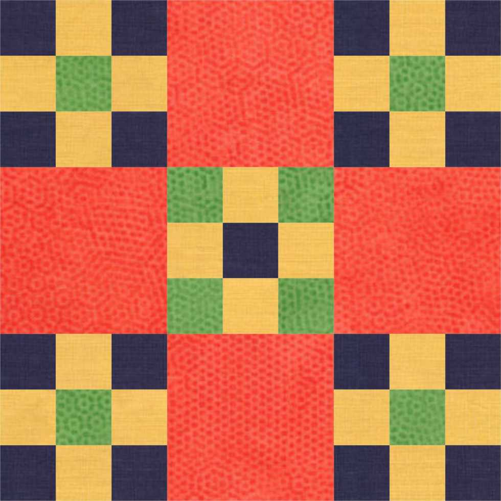 Double Nine Patch Block
