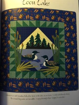 Spirit of the Northwoods Quilting Book - sample quilt