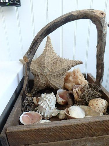 tobacco slat and twig basket