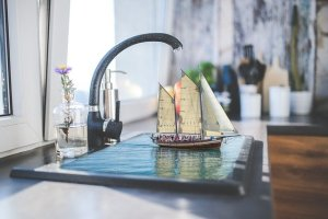 Update your kitchen on a tight budget by replacing your fausets