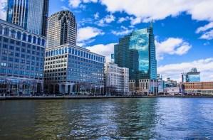 Waterfront neighborhood - a place where you can find some of the most expensive houses in Jersey City