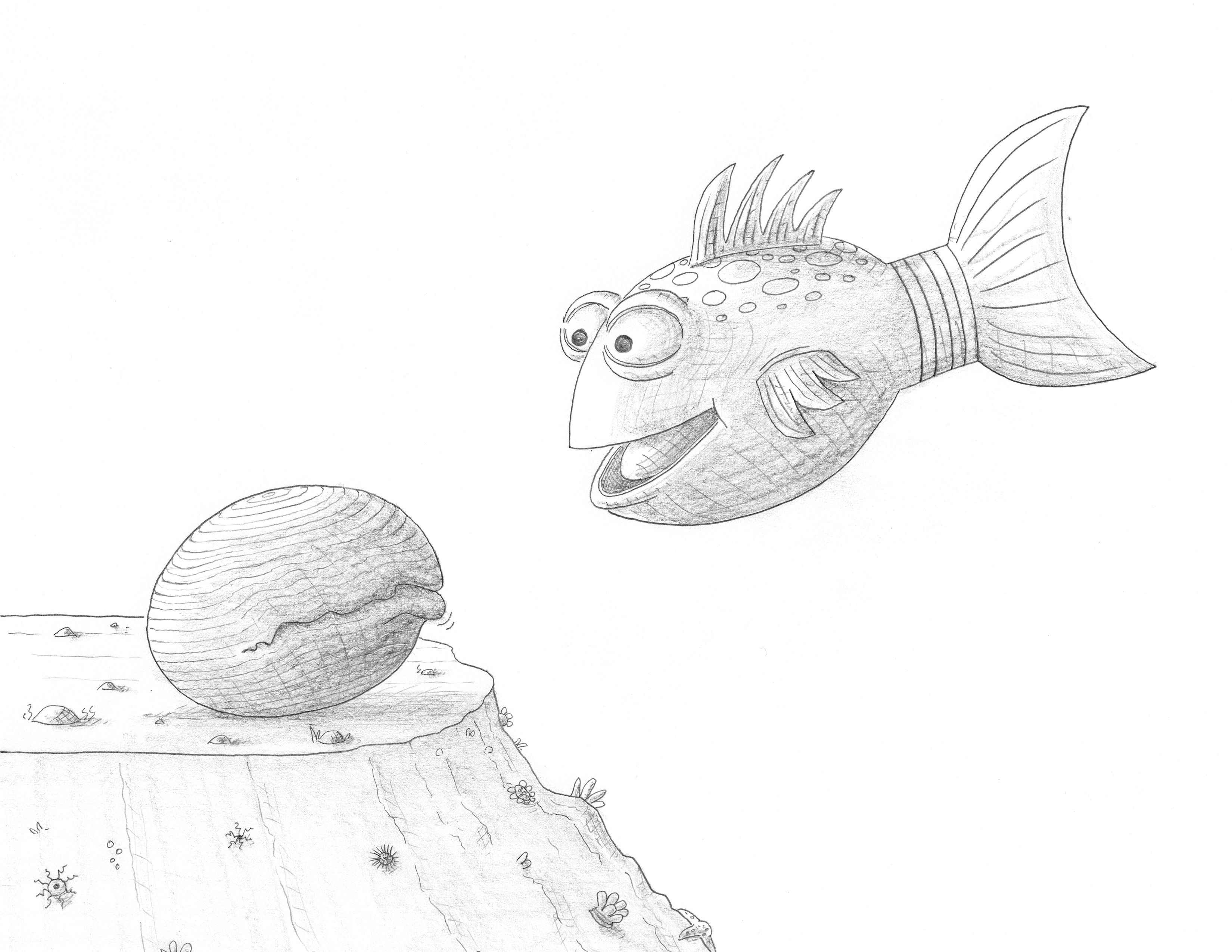 The Pout Pout Fish Color It Yourself Images