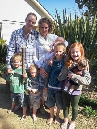 The Robb family