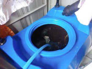 液肥に変えて水を注入
