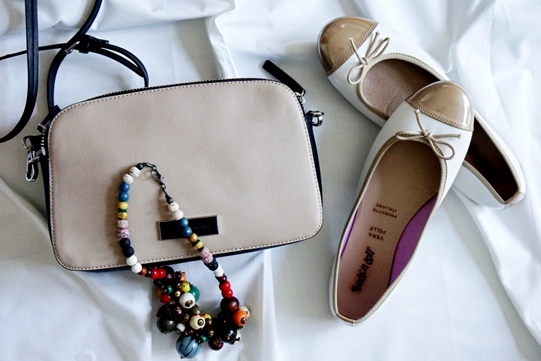 beige outfit details
