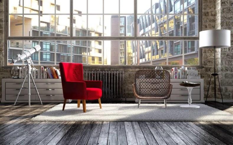 Modern-interior-in-loft-style-Furniture-909x568
