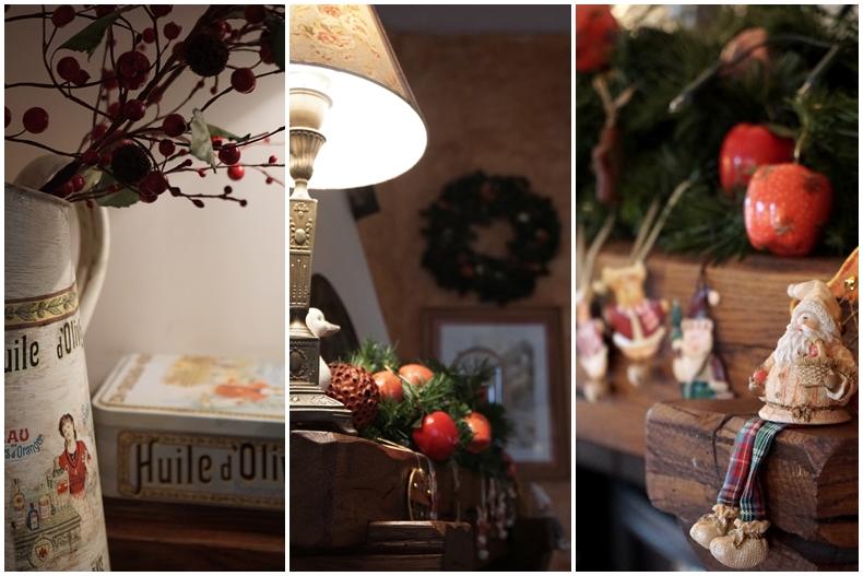 Christmas decor collage