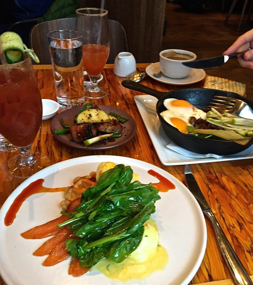 brunch at Chambar Vancouver
