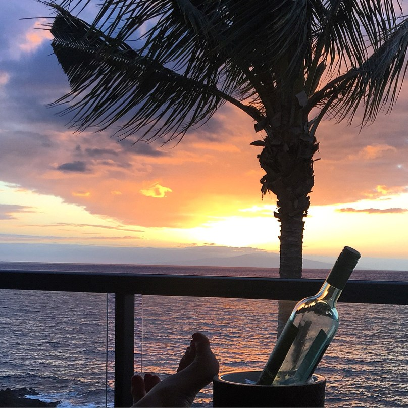 Wine with a view, Maui