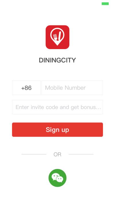 DiningCityアプリ