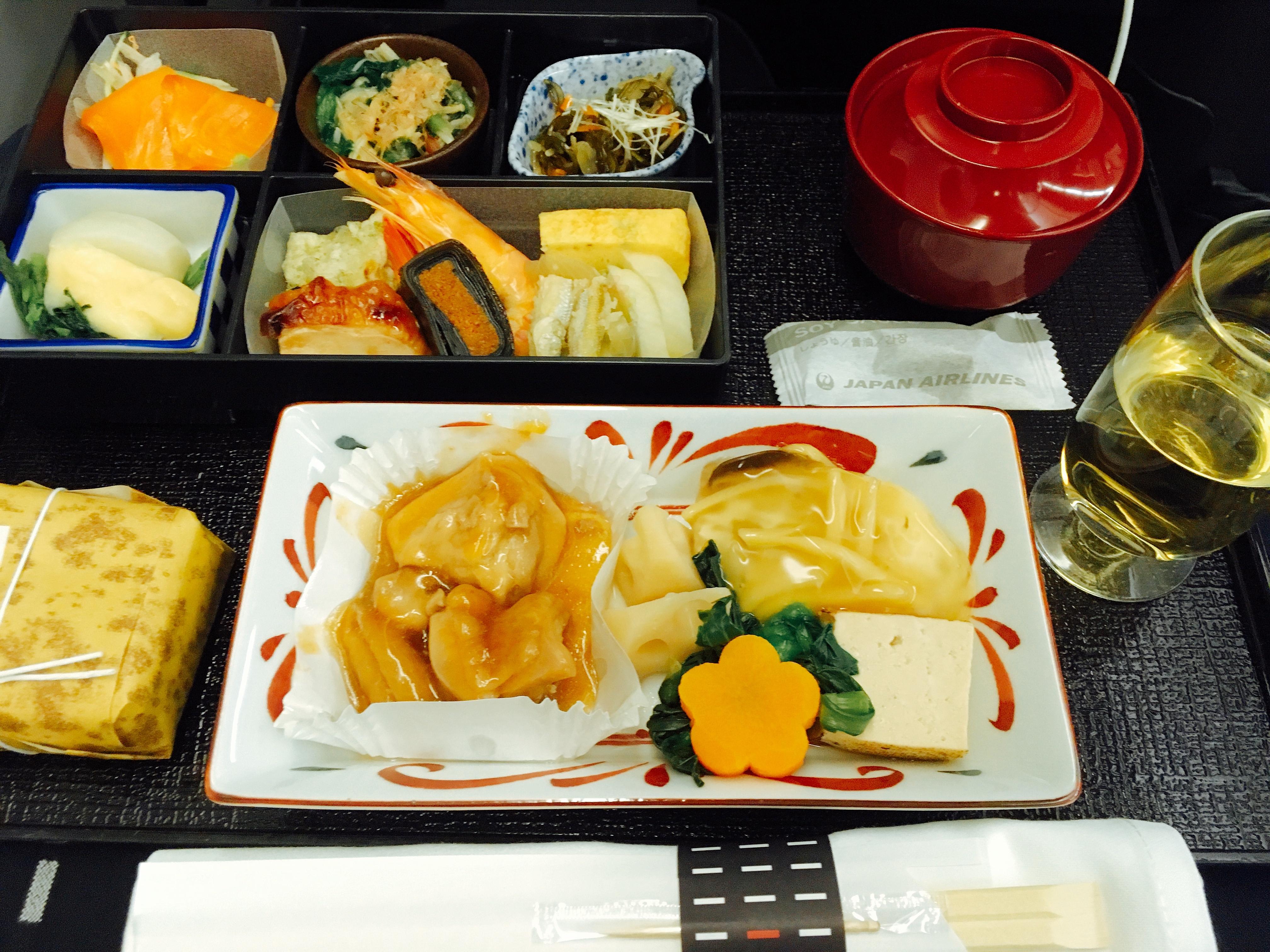 成田北京JAL便ビジネスクラス