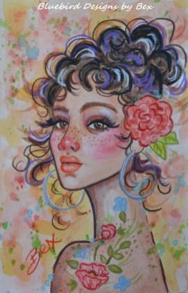 PRINT pretty lady-1