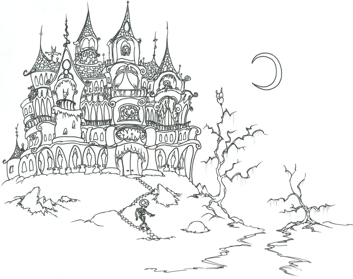 Bnute Productions Gothic Style Halloween Party Art Activities And Game Ideas