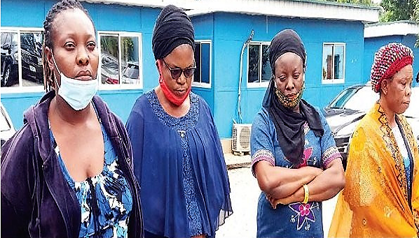 NAPTIP Arrests 4 Nigerian Women For Allegedly Selling New Born Baby for N1.5m