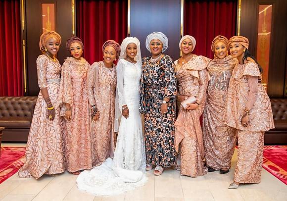 SEE WEDDING PHOTOS OF Hanan Buhari & Turad Sha'aban.