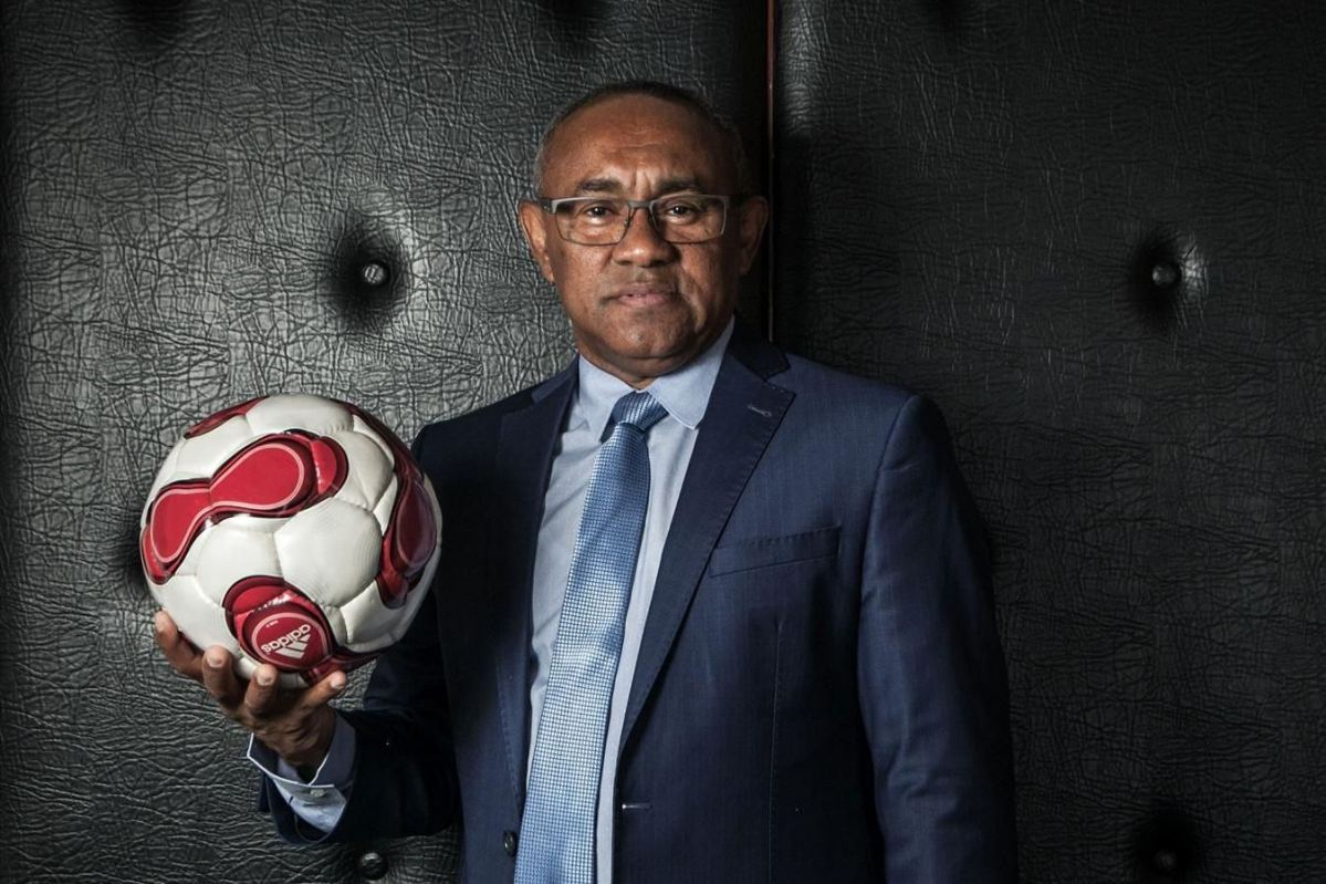 "Caf President "" Ahmad ""Submits SECOND TERM Re-Election BID."