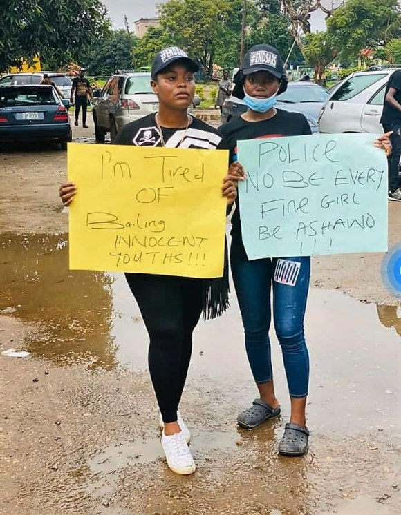 #EndSARS :  EDO STATE  YOUTH STAGE PEACEFUL PROTEST.