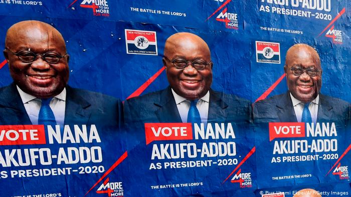 Nana Akufo -Addo Re-elected For SECOND TERM.