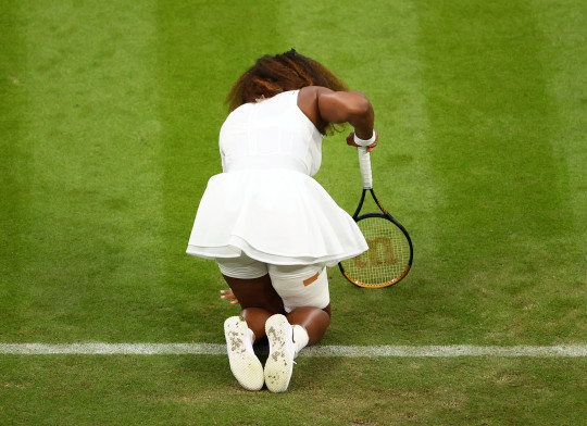 Serena Williams Forced To Make Early Exit From Wimbledon Due To Thigh Injury.