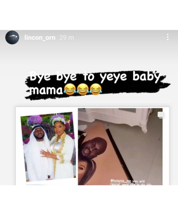 Bolanle ( Pepper Dem ) Video Vixen Sent Packing Out Of Her Matrimonial Home on IG Live.
