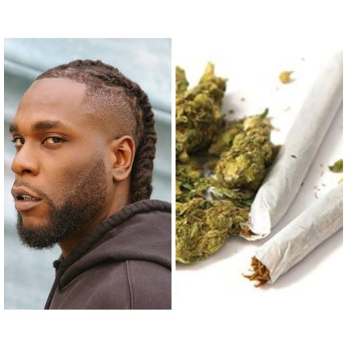 Burna boy Nigerian Grammy award winner has lent his voice to the issue of legalising Marijuana in Nigeria.