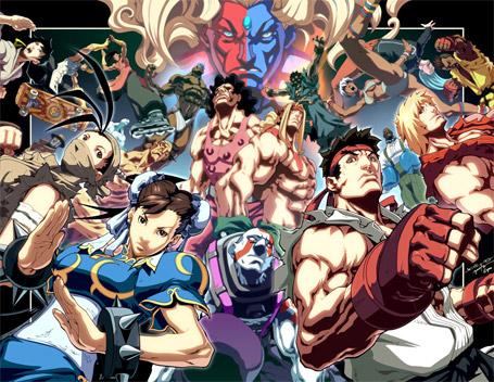 Street Fighter Artworks
