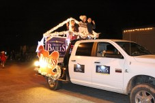 Courtney Bailes, wife of State Rep. Ernest Bailes, brought the couple's two young sons to ride in the Country Christmas parade on Nov. 27 in Liberty. The representative was unable to attend that evening.