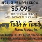 Faith and Family discountAD
