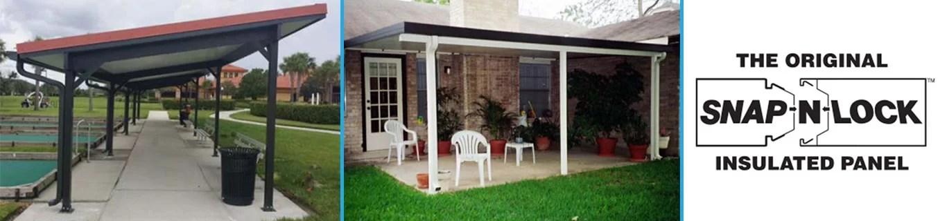snap n lock roofs bluebonnet patio covers