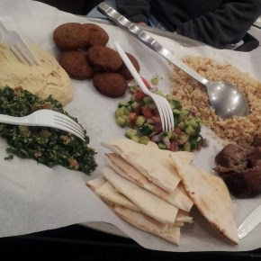 BlueBoots finds Egyptian Food in Beantown!