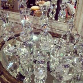 Mesmerizing Crystal Candlesticks