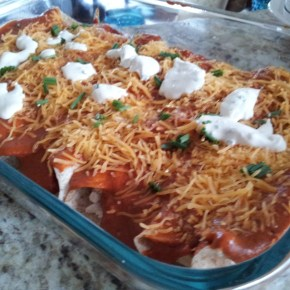 Gimme-the-Heat—Easy Red Enchiladas