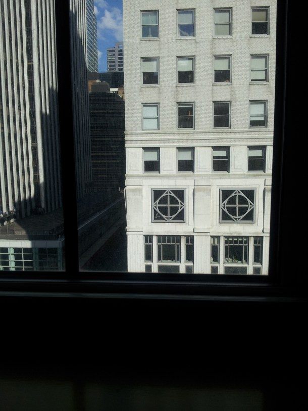 View from my seat at tea @Bergdorf Goodman