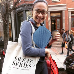 well+GOOD from NYC came to Boston for a Sweat Series bootcamp…. My first one!