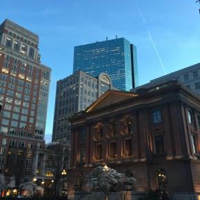 My Beautiful ❤️🌃 City at Dusk: Boston