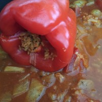 Mashi - Egyptian stuffed pepper recipe, by an Egyptian