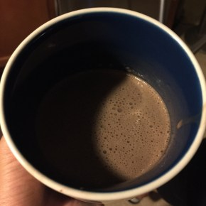 Dairy Free Chocolate Blended Shake