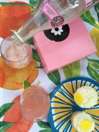 sweet, pink, and lemon