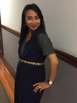 Sleeveless Shirt Dress (M)... as a VEST in Boston!