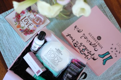 Glossybox january beauty box review