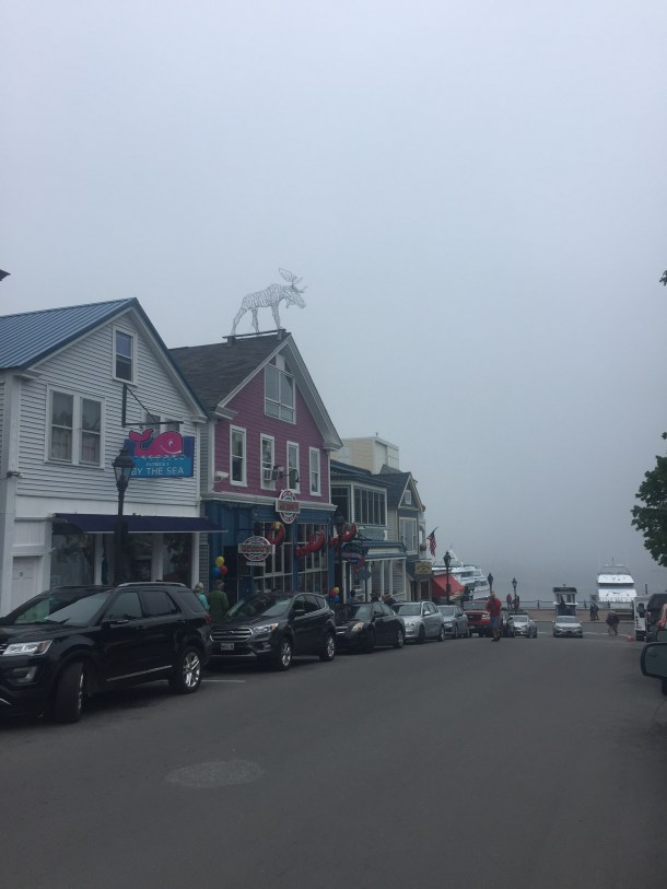 Shops in Bar Harbor, Maine