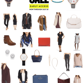Cozying up + Thinking Ahead to Fall – Early Access to Nordstrom's Anniversary Sale Picks