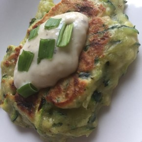 Zucchini Fritters – fresh, fast, simple
