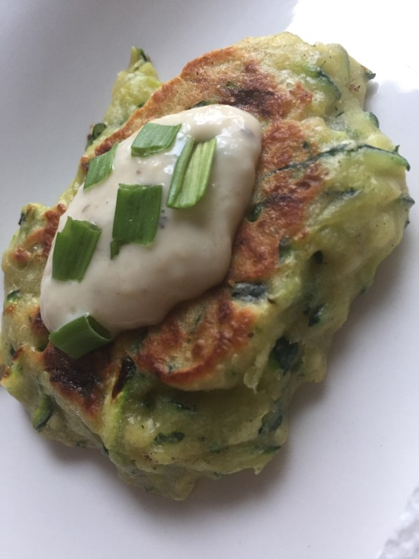 Zucchini Fritters - Where the BlueBoots Go