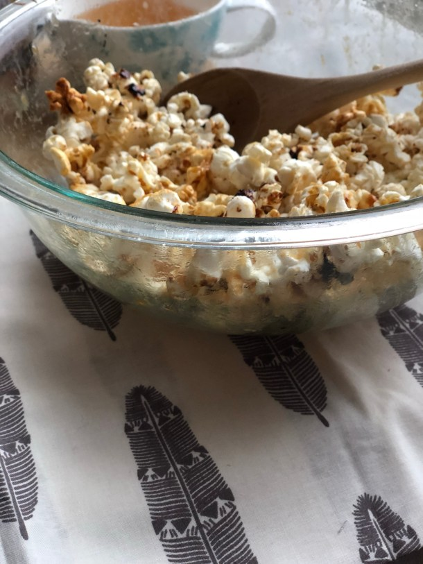Perfect Homemade Popcorn - Sweet and Salty with a Gourmet Touch